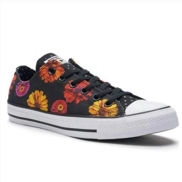 86526d94c4e8 Converse Shoes - Converse Low Sunflower Polka Dot Chucks